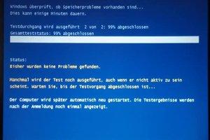 Speicher-Test unter Windows 7 durchführen - Anleitung