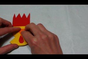 Osterhase und Huhn - so basteln Sie Osterfiguren aus Pappe