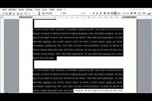 Eine Protokoll-Vorlage in Microsoft Word erstellen - Anleitung