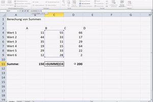 Excel-Formeln übertragen - so klappt's