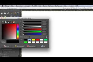 Flyer entwerfen - so geht's mit GIMP