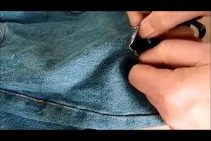 Löcher-Jeans selber machen - drei Anleitungen