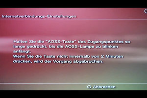 AOSS-Taste an der PS3 richtig nutzen - so geht's