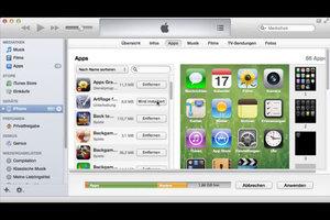 Apps von iTunes auf iPhone laden - so geht's