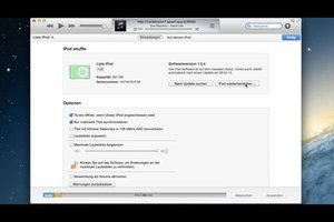 Anleitung - iPod formatieren