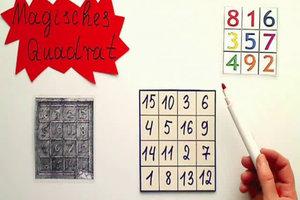 Magisches Quadrat lösen - so gehen Sie vor