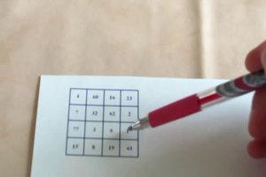 Zauberquadrate lösen - eine Schritt-für-Schritt-Anleitung