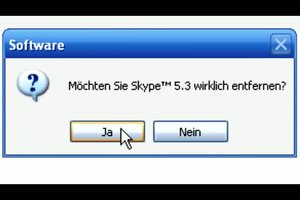 Skype deinstallieren - so geht´s bei Windows 7