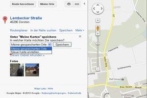 Etwas in Google Maps markieren - so geht's