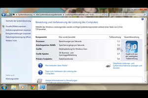 Desktopleistung für Windows Aero verbessern – so geht's
