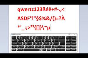 Tastatur - Zeichen und Symbole richtig verwenden