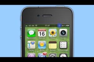iPhone 4: Schloss mit Kreis - was bedeutet es?