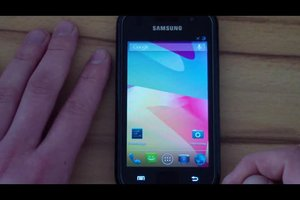 Galaxy S2 - so ändern Sie den Hintergrund