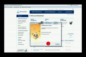 Samsung-Apps richtig installieren