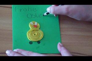 Frohe Ostern - Glückwünsche mit kreativen Karten überbringen