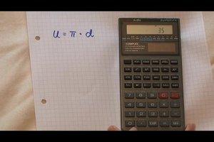 Kreisformel richtig anwenden - so berechnen Sie Radius und Umfang