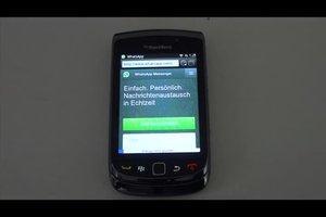 WhatsApp beim Blackberry installieren - so geht's