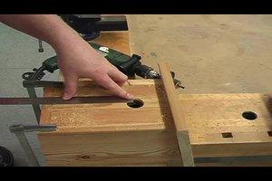 Meisenkasten mit Einflugloch selber machen - Bauanleitung