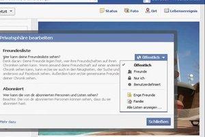 Auf Facebook neue Freunde verbergen - so funktioniert's