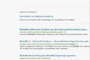Wie aktualisiere ich DirectX? - So geht's