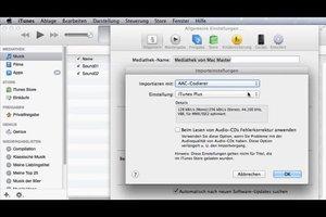 In iTunes AAC-Versionen erstellen – so konvertieren Sie Ihre Musik
