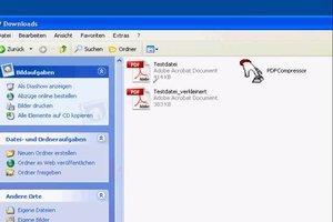 PDF-Datei verkleinern mit Adobe Reader - so geht's