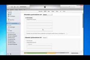 iPhone 4: Kontakte sichern - so geht's automatisch
