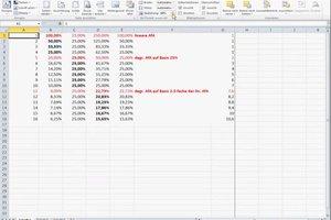 Bei Excel 2010 die Seite einrichten - hilfreiche Hinweise