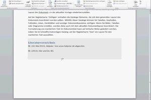 Unter Word 2010 ein Quellenverzeichnis erstellen - so gelingt's