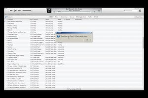 iTunes zeigt Geräte nicht an - das können Sie tun