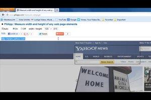 Bildschirmlineal online verwenden - so verwenden Sie es