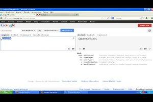 Google-Übersetzer mit Ton - Anleitung