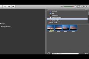 Fotos in iMovie importieren - so klappt's