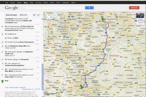 Benzinverbrauch berechnen mit Routenplaner - so funktioniert Google Maps