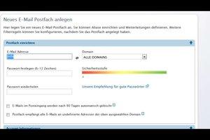 E-Mail-Adresse von info@ einrichten - so geht's