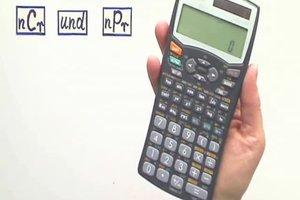 nCr und nPr im Taschenrechner richtig verwenden
