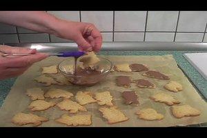 Rezept für Osterhasen-Plätzchen
