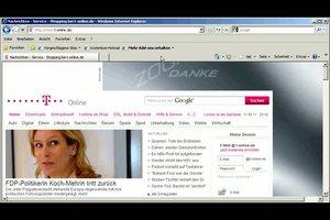 T-online als Startseite einrichten - so geht´s