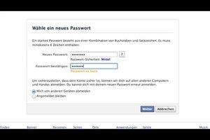 Facebook-Passwort vergessen - das können Sie tun