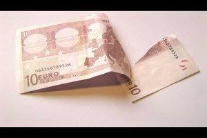 Zerrissener Geldschein - was tun?