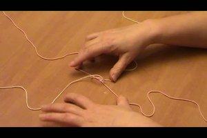 Armband selbst knoten - Anleitung