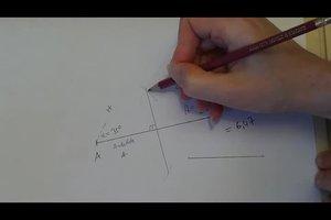 Winkel konstruieren mit dem Zirkel - so funktioniert's