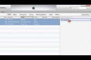 Mit iTunes eine neue Wiedergabeliste erstellen - so geht's