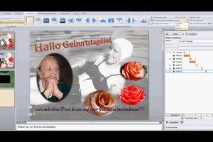 Powerpoint-Präsentation zum Geburtstag - kreative Ideen