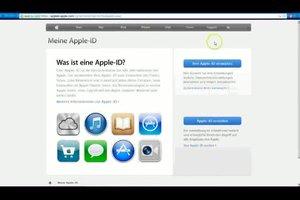 Apple-ID erstellen mit Click and Buy - so geht's