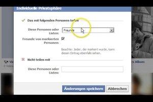 Profilbild bei Facebook als nicht öffentlich einstellen - so gelingt's