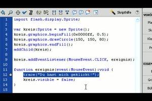 Flash programmieren lernen - erste Schritte für Einsteiger