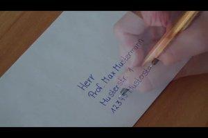 Kuvert richtig beschriften - so geht's