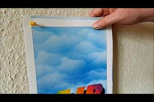 Bilder aufhängen ohne Bohren - so gelingt es