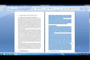 Bei Word Seiten löschen - so funktioniert's